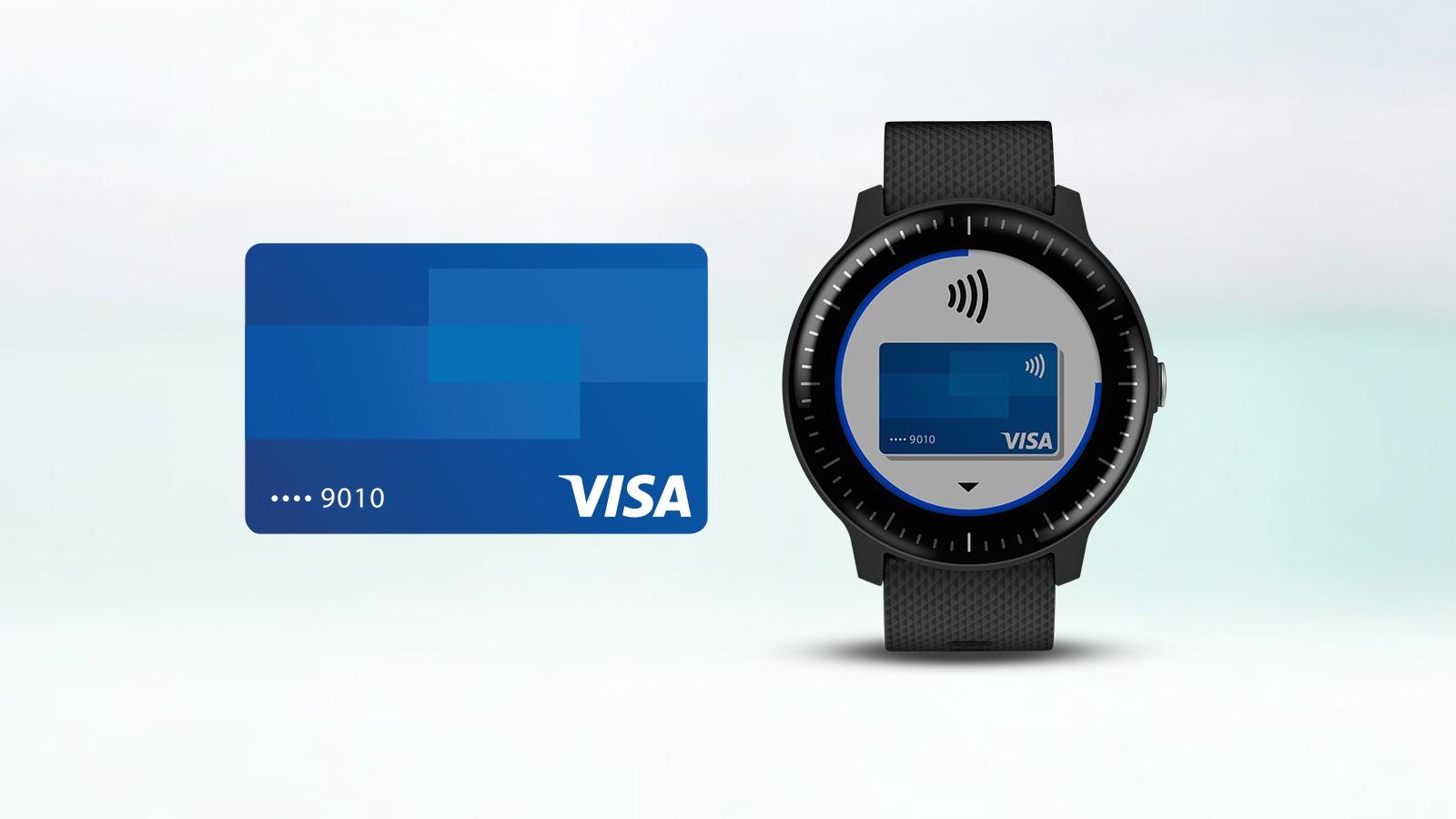 Garmin Pay   Visa